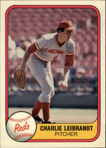 Photo of 1981 Fleer #208 Charlie Leibrandt RC