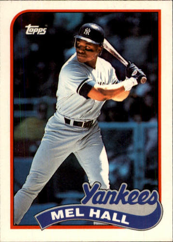 Photo of 1989 Topps Traded #44T Mel Hall