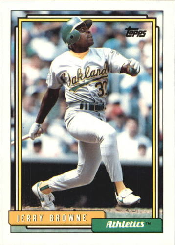 Photo of 1992 Topps Traded #16T Jerry Browne