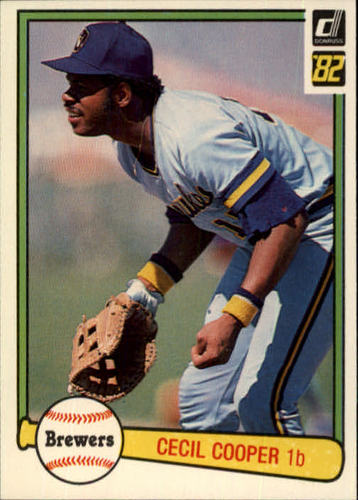 Photo of 1982 Donruss #258 Cecil Cooper