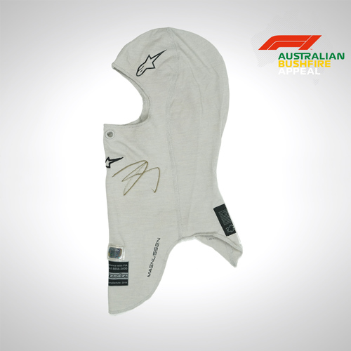 Photo of Kevin Magnussen 2019 Signed Balaclava