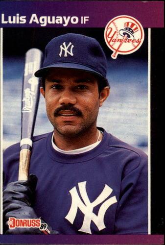 Photo of 1989 Donruss #551 Luis Aguayo DP