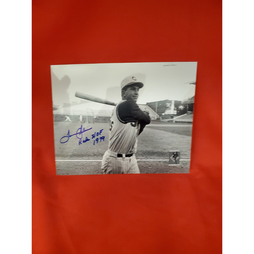 "Photo of Tommy Helms Autographed Photo ""Reds HOF 1979"""