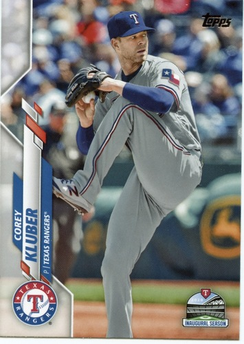 Photo of 2020 Topps #523 Corey Kluber