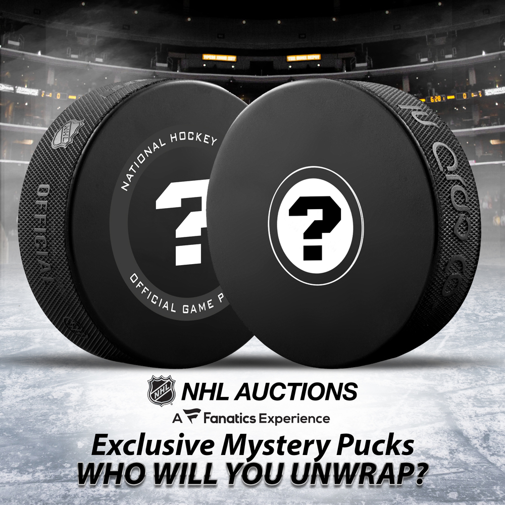 Fanatics Authentic Mystery Puck - Two-Puck Bundle