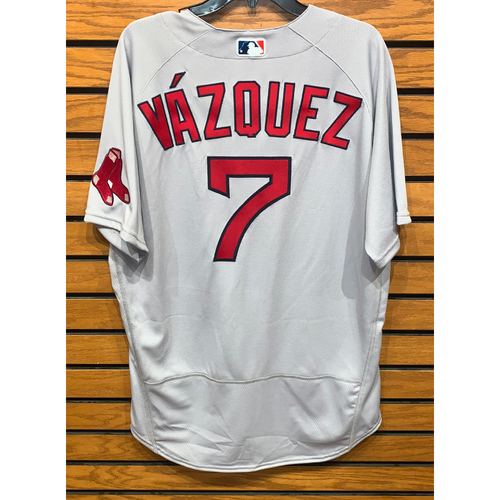 Photo of Christian Vazquez Team Issued 2020 Road jersey
