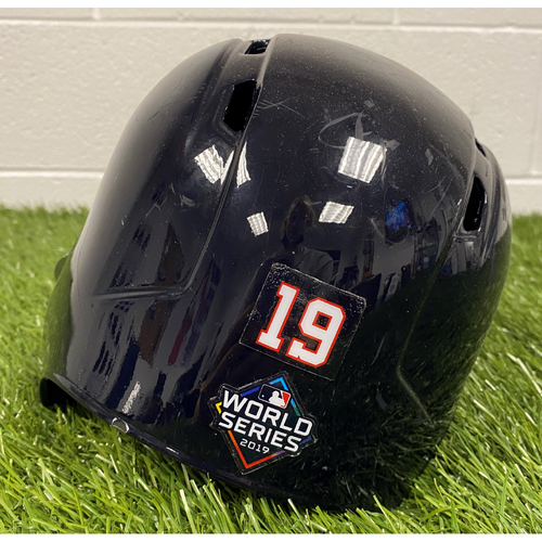Photo of Anibal Sanchez Helmet with World Series Decal