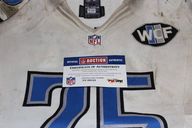 official photos a0913 1ac53 NFL Auction | NFL INTERNATIONAL SERIES GAME - LARRY WARFORD ...