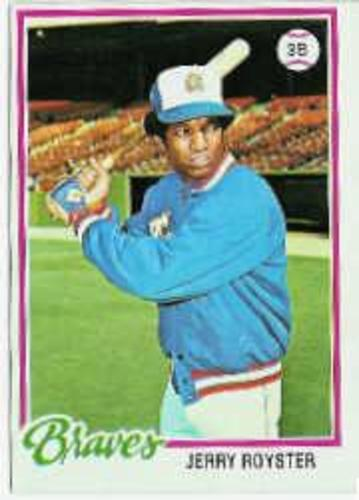 Photo of 1978 Topps #187 Jerry Royster DP