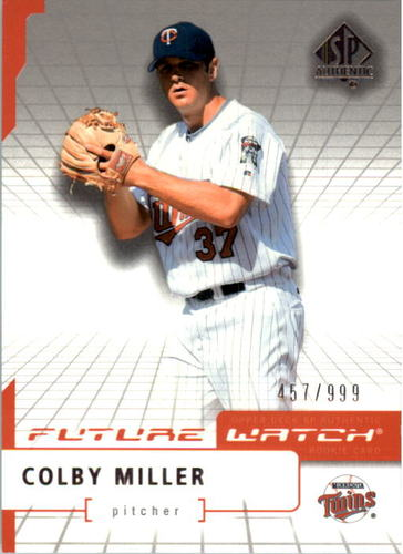 Photo of 2004 SP Authentic #95 Colby Miller FW RC