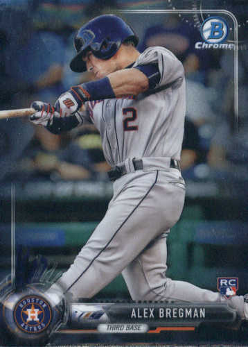 Photo of 2017 Bowman Chrome #12A Alex Bregman Rookie Card