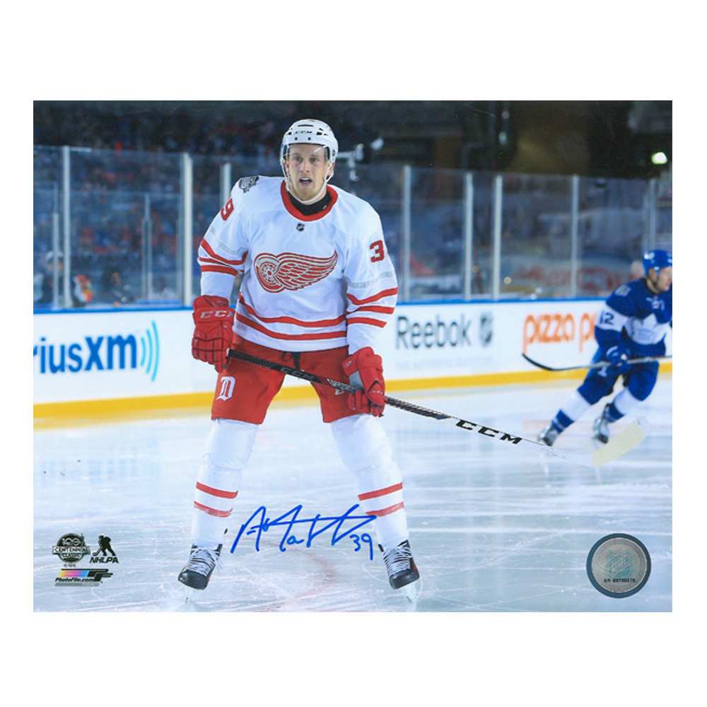 ANTHONY MANTHA Signed Detroit Rec Wings 8 x 10 Photo - 70513