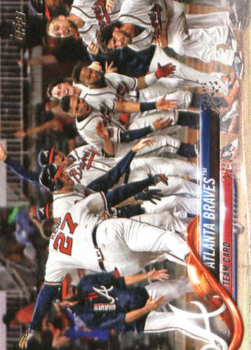 Photo of 2018 Topps #135 Atlanta Braves