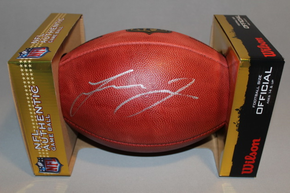 NFL - JAGUARS LEONARD FOURNETTE SIGNED AUTHENTIC FOOTBALL