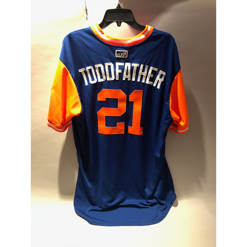 free shipping f43b0 4f341 Mets Auctions | New York Mets 2018 Little League Classic ...