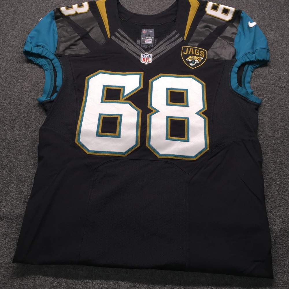 new concept 1aaf2 01b63 NFL Auction | Jaguars - Kelvin Beachum Game Issued Jersey ...