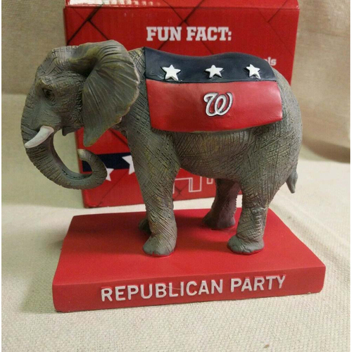 Photo of UMPS CARE AUCTION: 2016 Washington Nationals Political Mascot Figurine