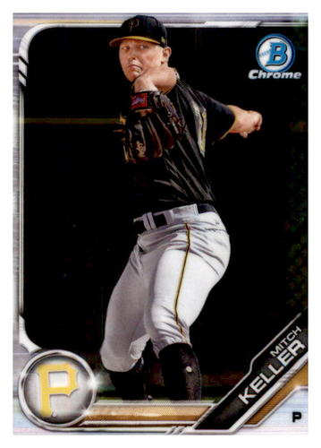 Photo of 2019 Bowman Chrome Prospects #BCP133 Mitch Keller