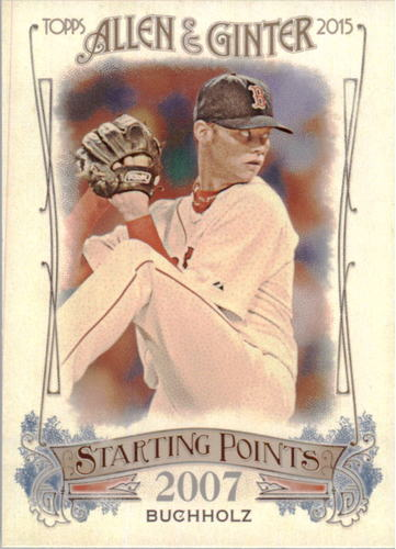 Photo of 2015 Topps Allen and Ginter Starting Points #SP9 Clay Buchholz