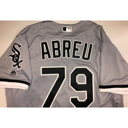 Photo of Jose Abreu Team Issued 2018 Grey Road Jersey