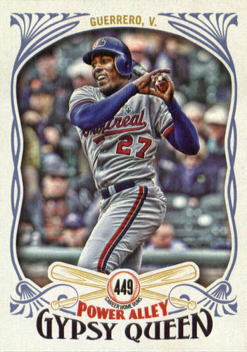 Photo of 2016 Topps Gypsy Queen Power Alley #PA20 Vladimir Guerrero