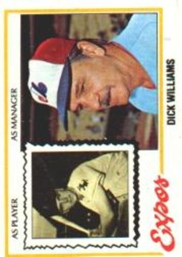 Photo of 1978 Topps #522 Dick Williams MG