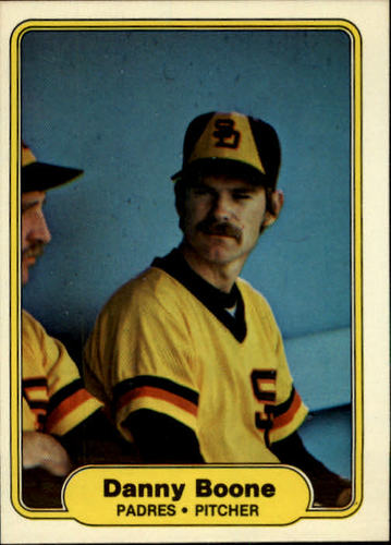 Photo of 1982 Fleer #568 Danny Boone