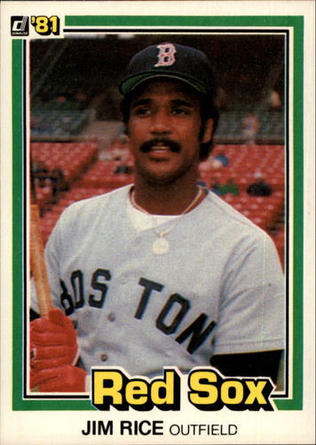 Photo of 1981 Donruss #338 Jim Rice