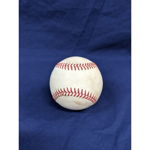 Photo of Los Angeles Dodgers Game-Used Baseball: Pitcher: Clayton Kershaw, Batters: Pat Valaika (Strikeout), Tony Wolters (Single) - Top 2 - 9/20/19, vs. COL