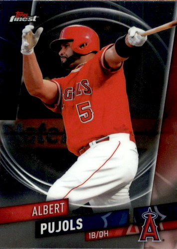 Photo of 2019 Finest #12 Albert Pujols