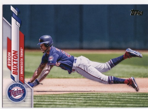 Photo of 2020 Topps #526 Byron Buxton