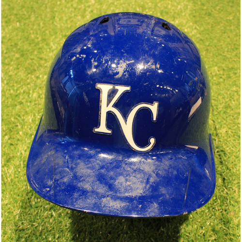 Photo of Game-Used Helmet: Adalberto Mondesi #27 (Righty) (DET @ KC 9/26/20)