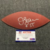 Chargers - Junior Seau Signed Authentic Panel