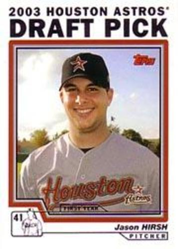 Photo of 2004 Topps #682 Jason Hirsh DP RC