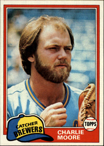 Photo of 1981 Topps #237 Charlie Moore