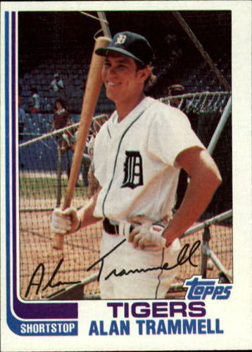 Photo of 1982 Topps #475 Alan Trammell