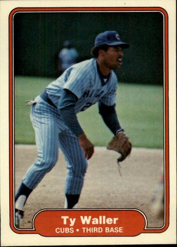 Photo of 1982 Fleer #607 Ty Waller