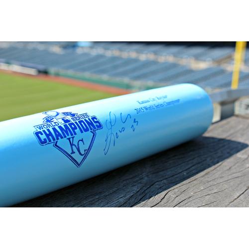 Kendys Morales Autographed Bat