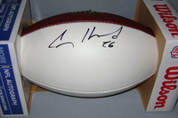 NFL - CHARGERS CASEY HAYWARD SIGNED PANEL BALL