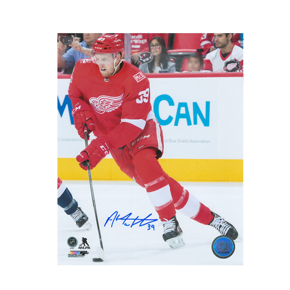 ANTHONY MANTHA Signed Detroit Rec Wings 8 x 10 Photo - 70514