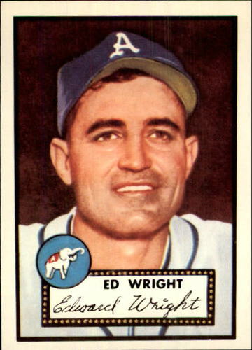 Photo of 1983 Topps 1952 Reprint #368 Ed Wright
