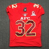 NFL - PATRIOTS DEVIN MCCOURTY GAME ISSUED 2017 AFC PRO BOWL JERSEY - SIZE 42
