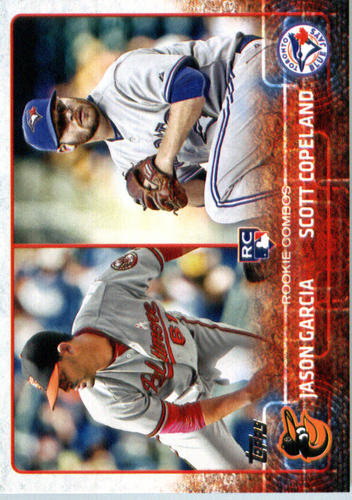 Photo of 2015 Topps Update #US114 Jason Garcia RC/Scott Copeland RC