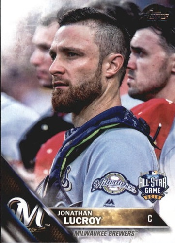 Photo of 2016 Topps Update #US250 Jonathan Lucroy AS