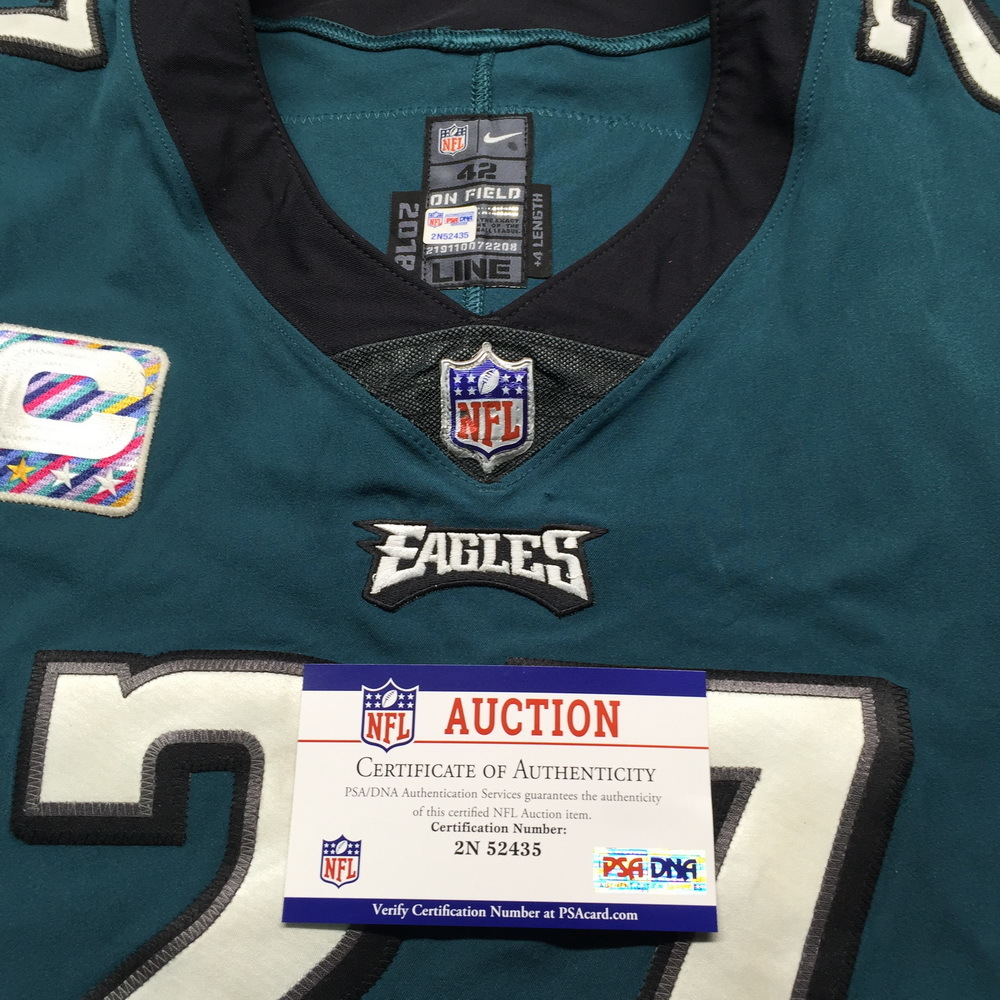 5168cc53 ... Crucial Catch - Eagles Malcolm Jenkins Game Used Jersey W/ Captain's  Patch (October 11th