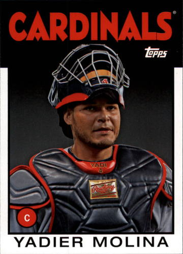 Photo of 2014 Topps Archives #120 Yadier Molina