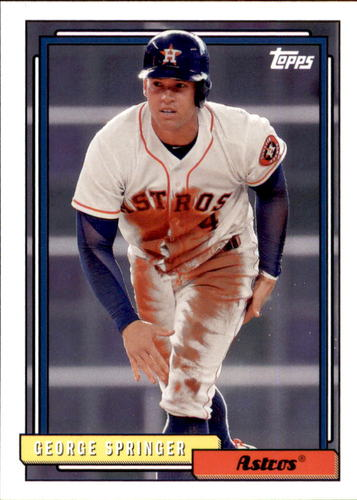 Photo of 2017 Topps Archives #209 George Springer