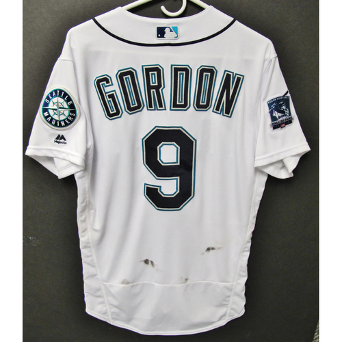 Photo of Seattle Mariners 2019 Dee Gordon Game-Used Jersey - Edgar Martinez Hall of Fame Celebration Weekend - August 9-11