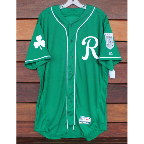 Photo of Team-Issued St. Patrick's Day Jersey: Jesse Hahn (Size - 46)