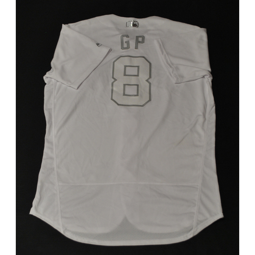 "Photo of Gary ""GP"" Pettis Houston Astros Game-Used 2019 Players' Weekend Jersey"
